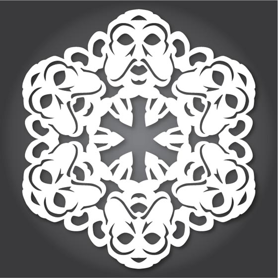 DIY Snowflakes Inspired by Star Wars