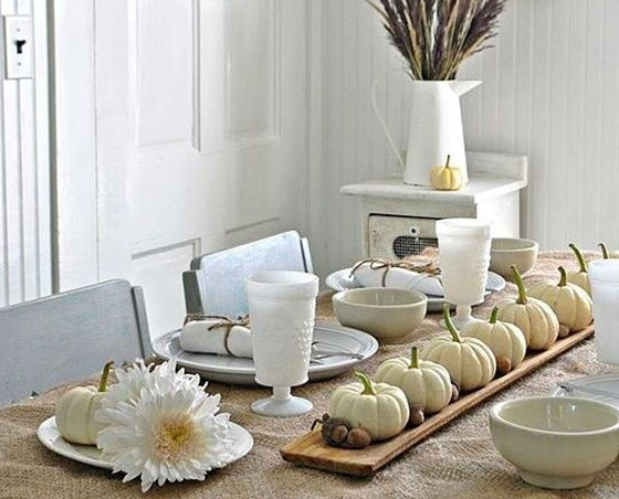 30 Beautiful Thanksgiving Centerpiece Ideas for your Inspiration