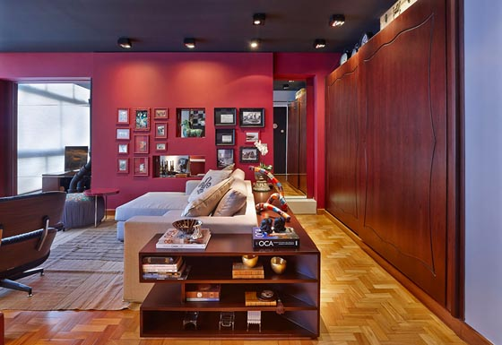 Colorful and Playful Loft Apartment in Brazil