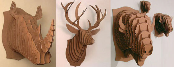 7 Cool and Unusual Products Made from Cardboard