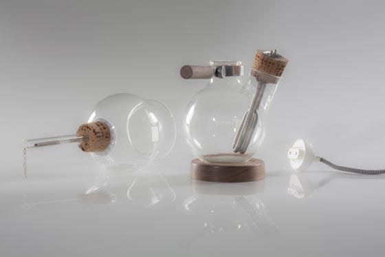 Café Balão: Crazy Scientist Style Coffee Maker