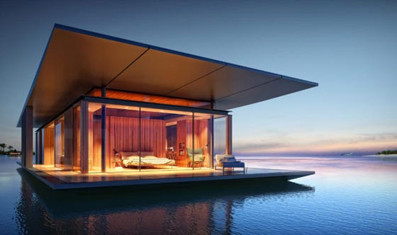 Floating House: a Mobile House for People who Appreciate Freedom and Nature