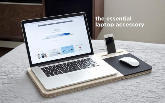 Slate - Mobile AirDesk for Laptop User