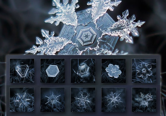 Stunning Macro Photography of Snowflakes by Alexey Kljatov