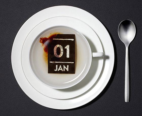 Taste of Day: Innovative Tea Calender by Hälssen & Lyon