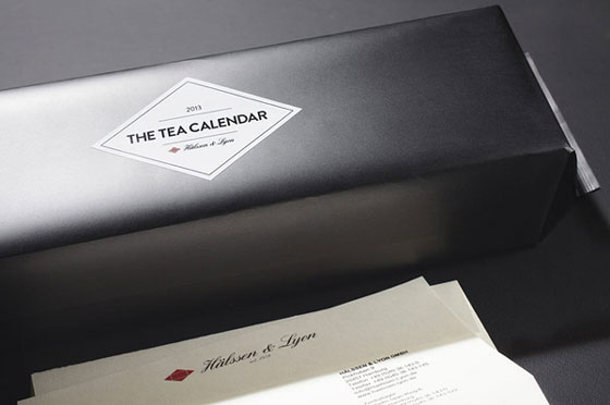 Taste of Day: Innovative Tea Calender by Hälssen & Lyon