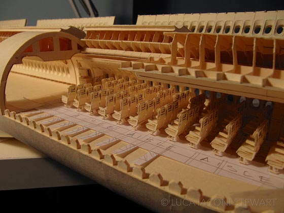 Highly Detailed 1:60-Scale Boeing 777 Paper Model by Luca Iaconi-Stewart
