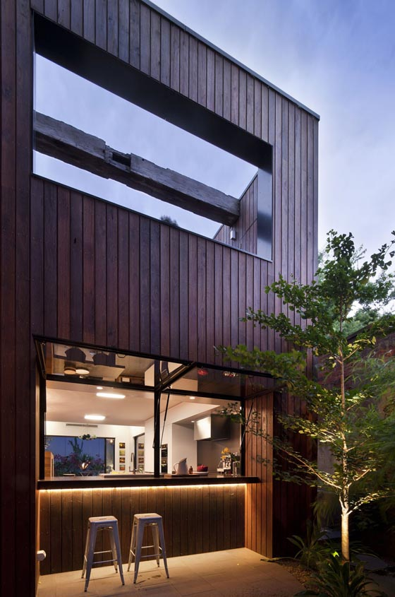 Harmonious Dream Home Design in Fitzroy, Australia