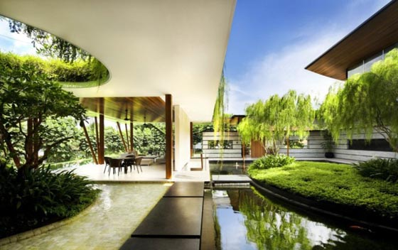 Willow House: Beautiful Green in Singapore