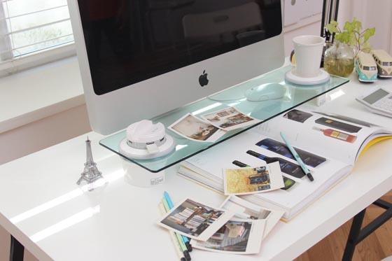 Cyanics i-Bridge: a Multi-Function Desk Organizer
