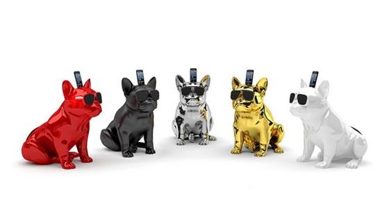 AeroBull: Stylish Bulldog Bluetooth-speakers