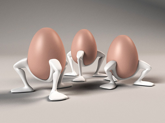 9 Cool and Unusual Egg Cups