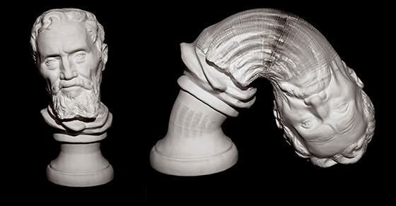 Stunning Stretchable Paper Sculpture by Li Hongbo