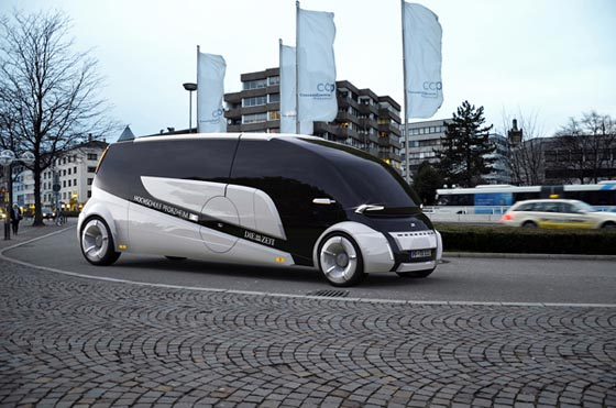 Split&Go: Innovative Automobile Concept by Kenan Haliloglu