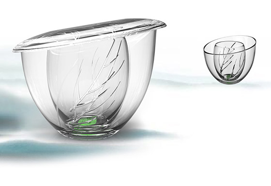 BeauTea: Perfect Tea Cup for Loose Tea Lover