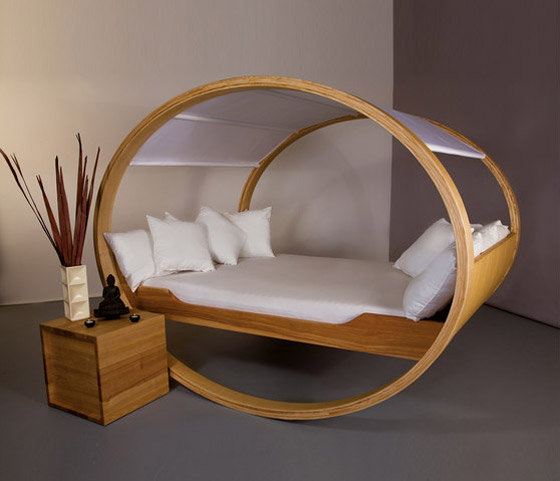The world s coolest beds design swan for Top furniture designers in the world
