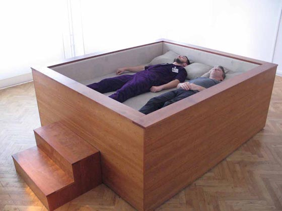 The world's coolest beds