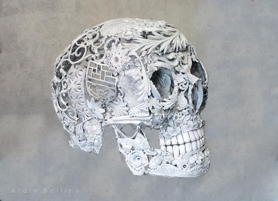 Beautifully Detailed Metal Sculptures by Alain Bellino
