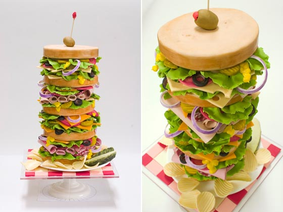 Edible Art: Realistic Sculpted Cakes by BethAnn Goldberg