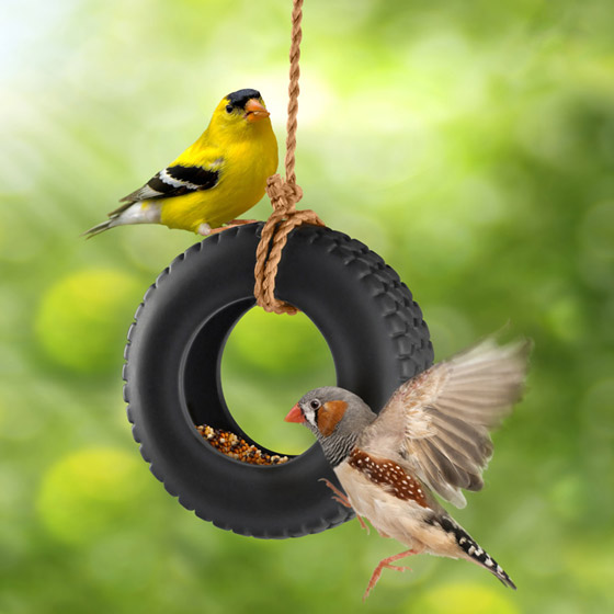 8 Cool and Modern Bird Feeders