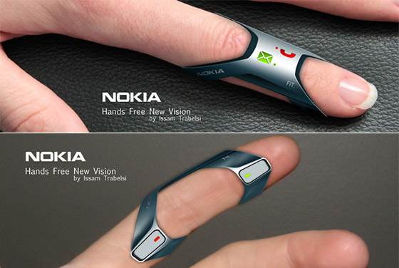 Nokia FIT: Ring-shape Wearable Phone Concept