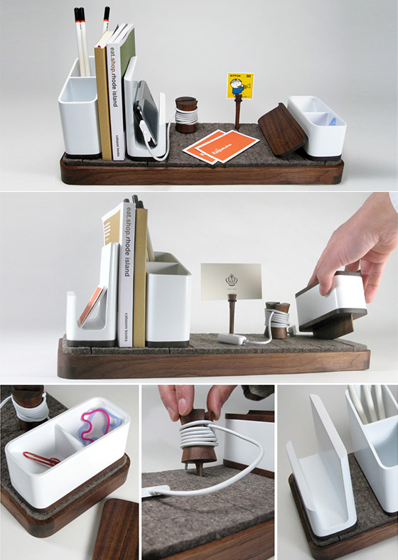 9 cool desk organizers keeping your desk in order design - Desk organization accessories ...