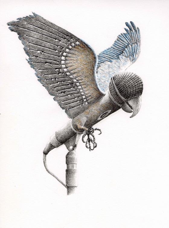 Fascinating Composite Illustrations by Redmer Hoekstra