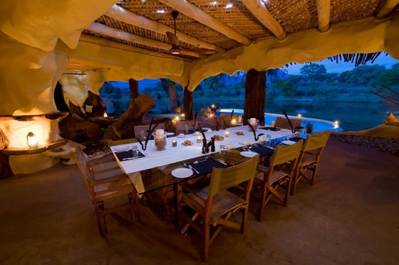 Nature Embracing Villa in Lower Zambezi National Park