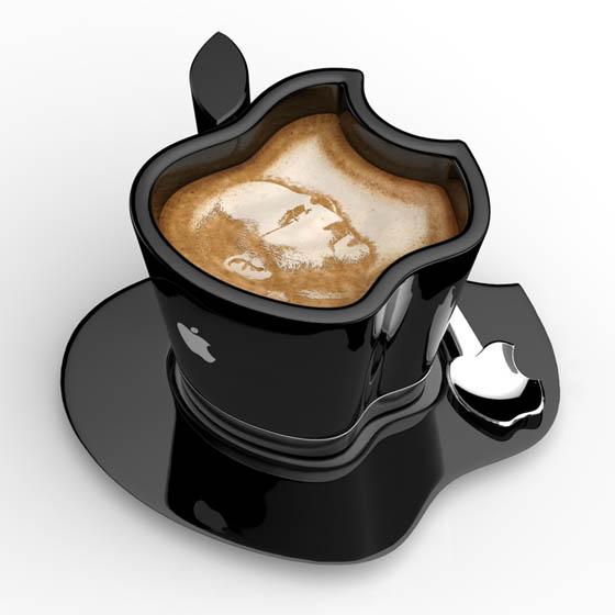 Apple iCup: an USB Warming Coffee Mug Concept