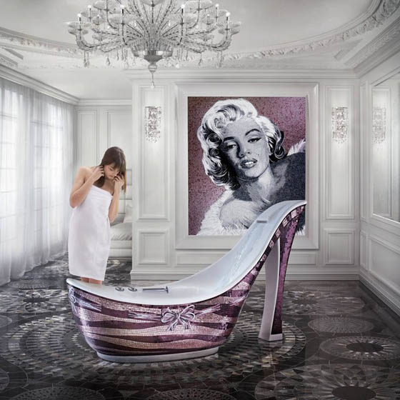 25 Cool and Creative Bathtubs