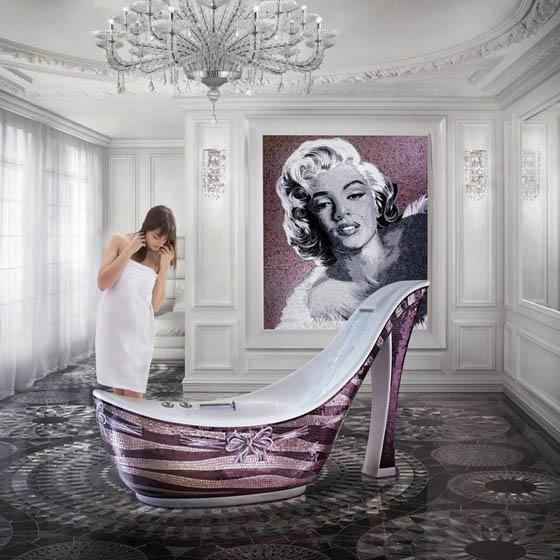 25 Cool and Creative Bathtubs