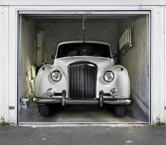 Garage Door Stickers style your garage: creative 3d garage doors stickers – design swan