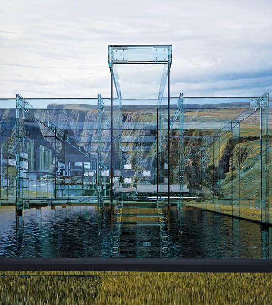 Stunning Glass House: Dream Place or Nightmare