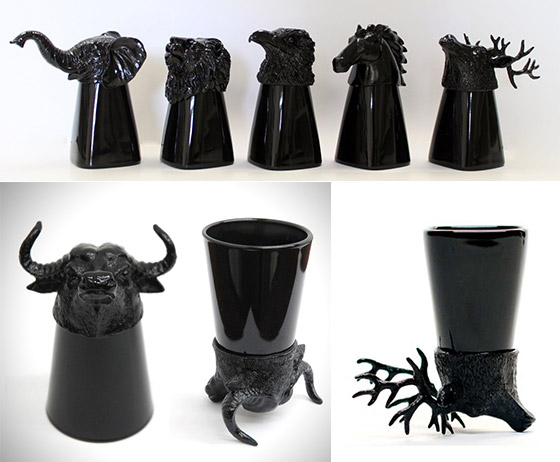 12 Cool and Unusual Shot Glasses for Your Next Party