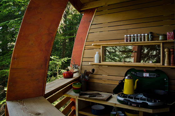 HemLoft: A Secret Tree House Hiding in the Woods of Whistler, Canada