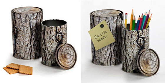 7 Cool and Unusual Log-shaped Products