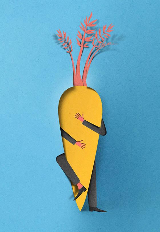 Digital Papercut: Realistic 3D Illustrations Look Like Paper Cut