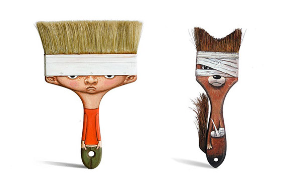 Delightful Characters Transformed from Everyday Object