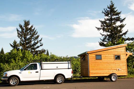 Salsa Box: Tiny House on the Wheel