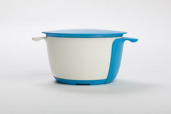 OneBowl: Cook, Strain, Eat and Store All in One Bowl