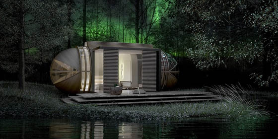 DROP XL: Micro Removable Modular Hotel Room