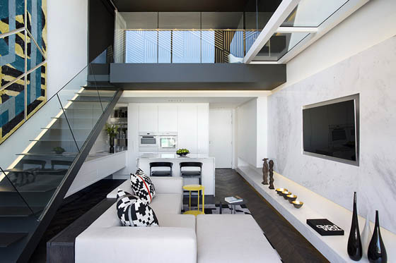 Modern Duplex Apartment Located in Cape Town, South Africa
