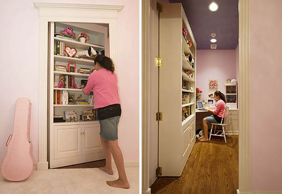 16 Cool and Fun Secret Room Ideas