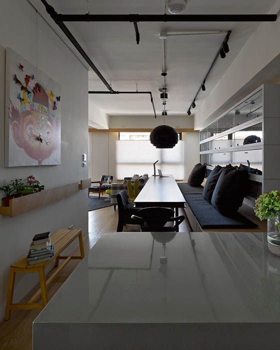 Modern and Functional Apartment in Taiwan