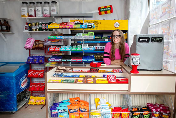 The Cornershop: a Store Filled With 4,000 Hand-Stitched Felt Products