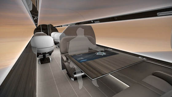 IXION: Amazing Windowless Jet Concept Offers Panoramic Views