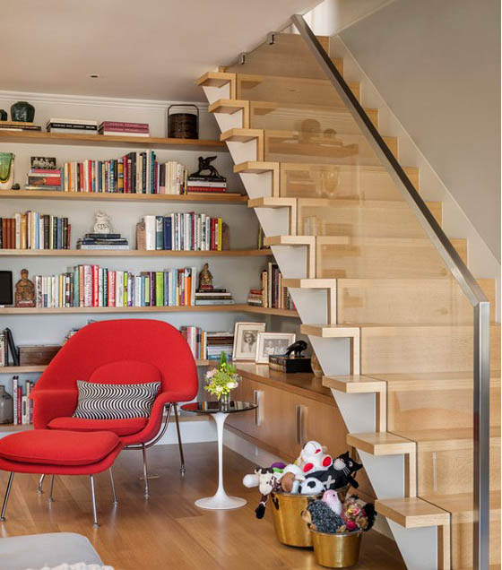 Beautiful and Cool Home Stair Design