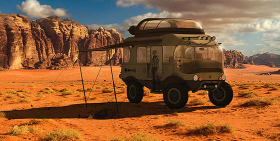 Troy: Concept Expedition Vehicle