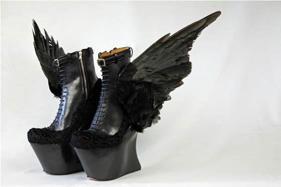 Fantastic Heel Shoes Designed By Masaya Kushino