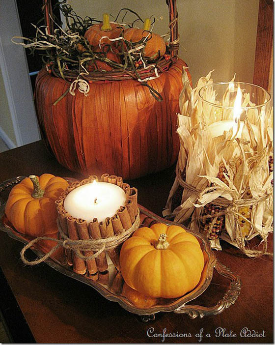 33 Beautiful Fall Decoration Ideas